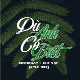 Dù Anh Có Biết (Kyle Mix) (Single) - Huy Vạc, Hiderway