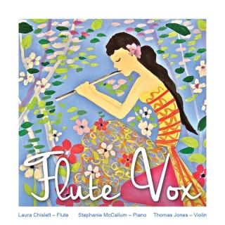 Flute Fox - Laura Chislett