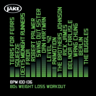 Body By Jake: 80s Weight Loss Workout (BPM 100-136) - Various Artists, Various Artists, Various Artists 1
