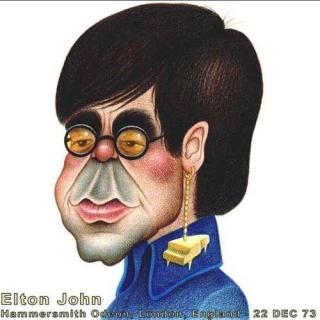 Live at the Hammersmith Odeon 22 - 12 - 1973 (Bootleg Vinyl) CD2 - Elton JohnTaron Egerton
