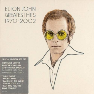 Greatest Hits 1970 - 2002 CD3 - Elton JohnTaron Egerton