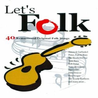 Let's Folk (40 Remasteres Original Folk Song) CD1 - Various Artists