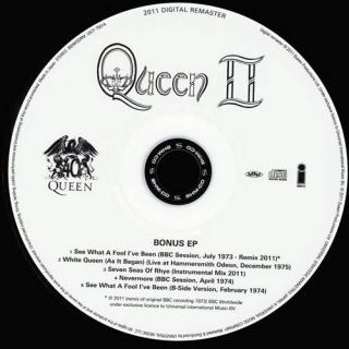 Queen II CD2 - Queen