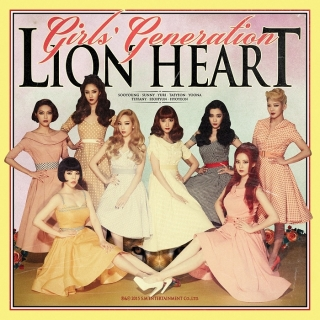 Lion Heart (Vol.5) - SNSD
