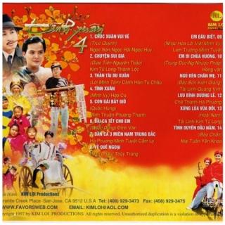 Tình Xuân 4 - Chúc Xuân Vui Vẻ - Nhiều Ca Sĩ, Various Artists 1