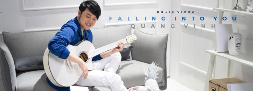 Quang Vinh - Falling Into You (MV)