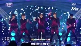 Playground (Inkigayo 25.01.15) (Vietsub) - U-Kiss