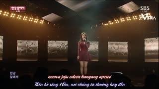 At The Han (Inkigayo 18.01.15) (Vietsub) - Navi