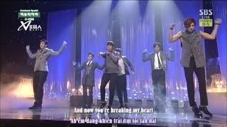 Quit Playing (Inkigayo 08.06.14) (Vietsub) - U-Kiss