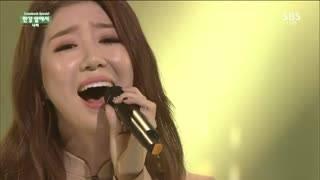 At The Han (Inkigayo 11.01.15) - Navi