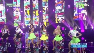Shake It (Inkigayo 19.07.15) - Sistar