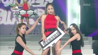 Rewind + I Feel You (Music Bank 07.08.15) - Wonder Girls