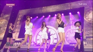 Remember (Inkigayo 09.08.15) - A Pink