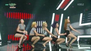 Roll Deep (Music Bank 28.08.15) - HyunA