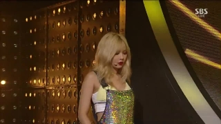 Because I'm The Best (Roll Deep) (Inkigayo 06.09.15) - HyunA