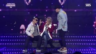 Chocolate (Inkigayo 13.09.15) - San E, Kang Nam