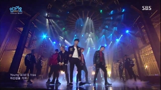 Young Wild & Free (Inkigayo 29.11.15) - B.A.P