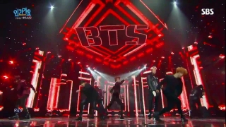 Run (Inkigayo 13.12.15) - BTS