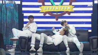 Pretty U (Inkigayo 08.05.2016) - Seventeen