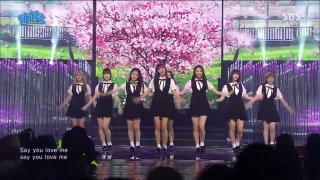 One Step, Two Steps (Inkigayo 08.05.2016) - Oh My Girl