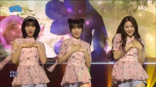 Windy Day (Inkigayo 05.06.2016) - Oh My Girl