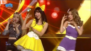 Apple Pie (Inkigayo 05.06.2016) - FIESTAR
