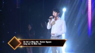 Dù Chỉ Là Mộng Mơ (Live) - Rocker Nguyễn