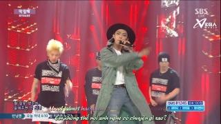 Just Tell Me (Inkigayo 07.06.15) (Vietsub) - MYNAME